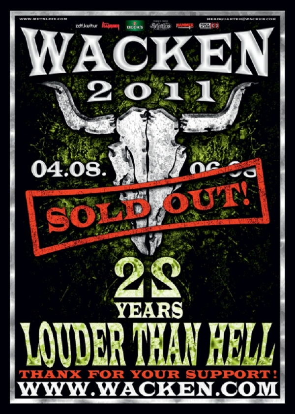 Trivium beim Wacken Open Air 2011!!