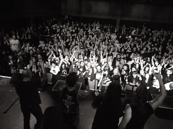 Trivium UK Tour 2016